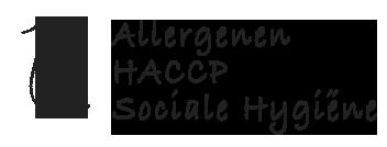 Aanvullende cursussen zoals allergenen, haccp en sociale hygiene