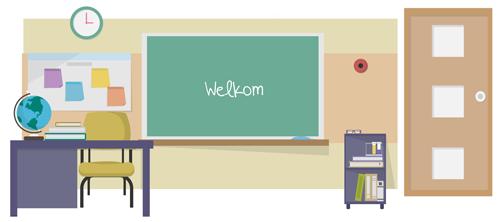 Een digitaal klaslokaal
